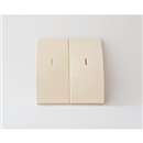 Cover for 2-button controller, sandy beige